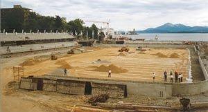 Bygging av nye Molde Stadion, 1997