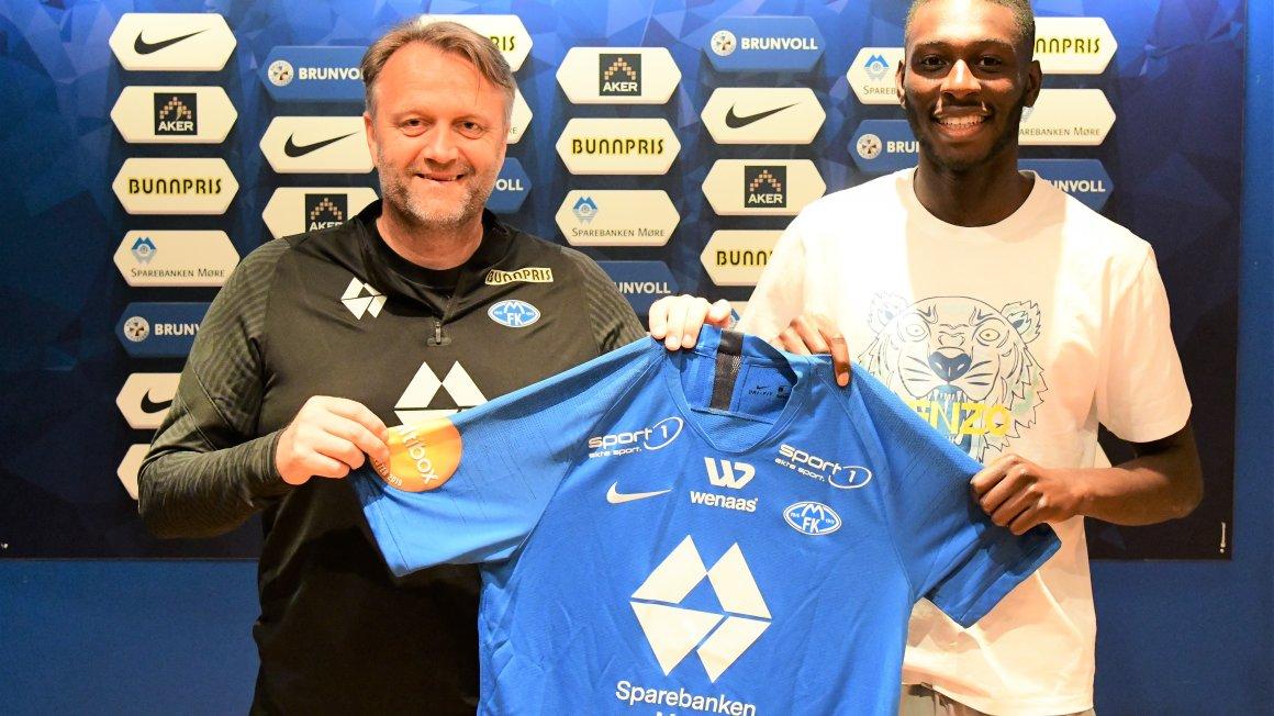 Sheriff Sinyan er klar for Molde FK