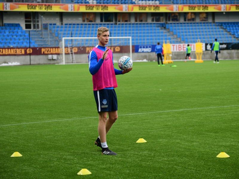 Martin Ove Roseth signerte nylig en 3-årskontrakt med Molde FK