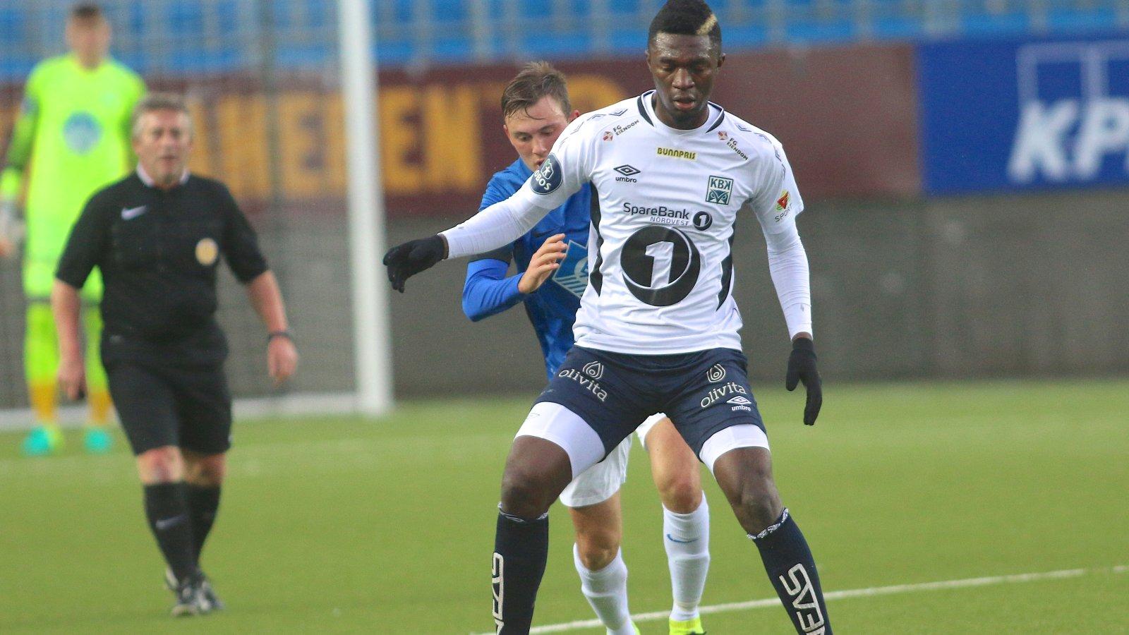 Molde FK - KBK 2-3 treningskamp Ekpe