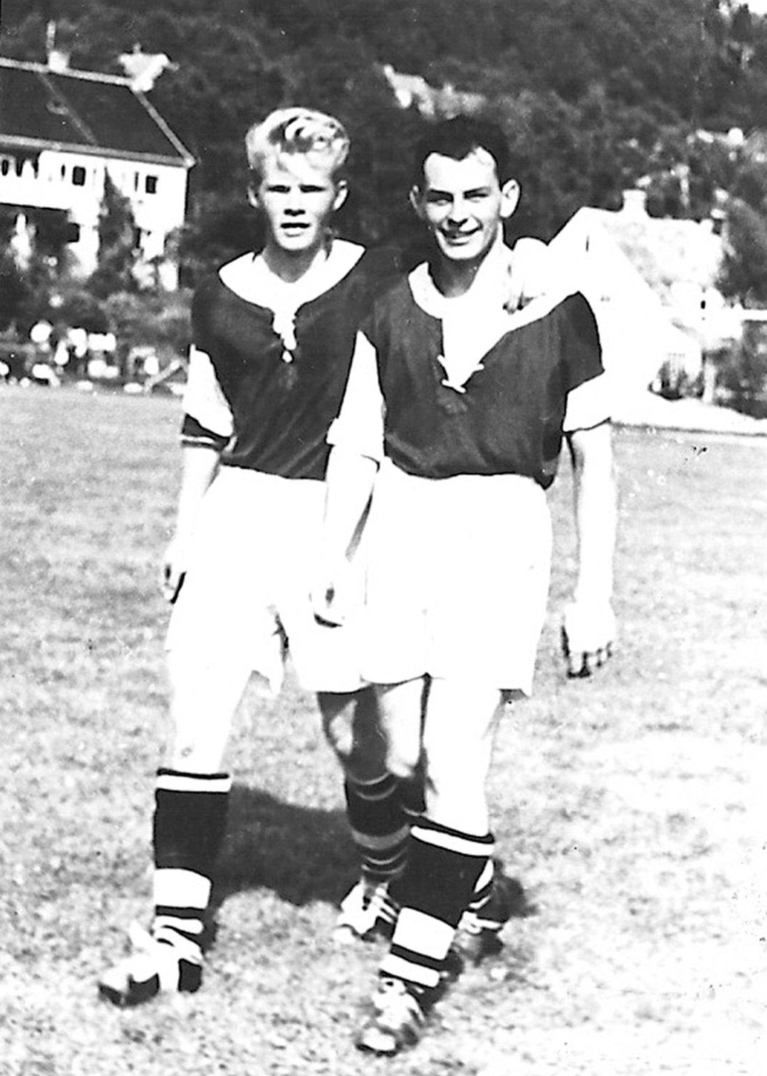 """Otto Trønningsdal og Aslak """"Putte"""" Eikrem (1957)"""