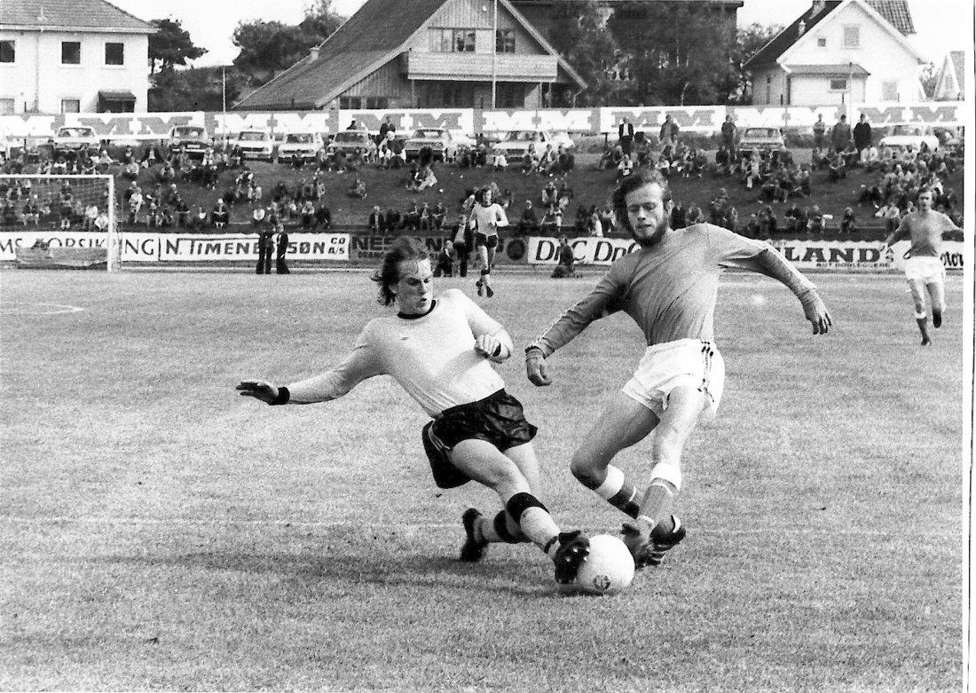 1975 Stein Olav Hestad i kamp mot start