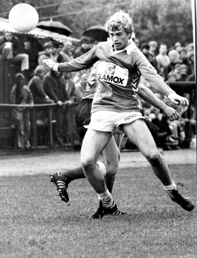 Tor Gunnar Hagbø med solid forsvarsspill. Foto: Knut Rusten